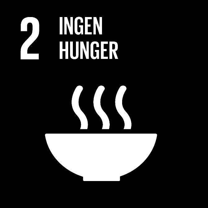 FN:s 17 globala hållbarhetsmål: 2 ingen hunger