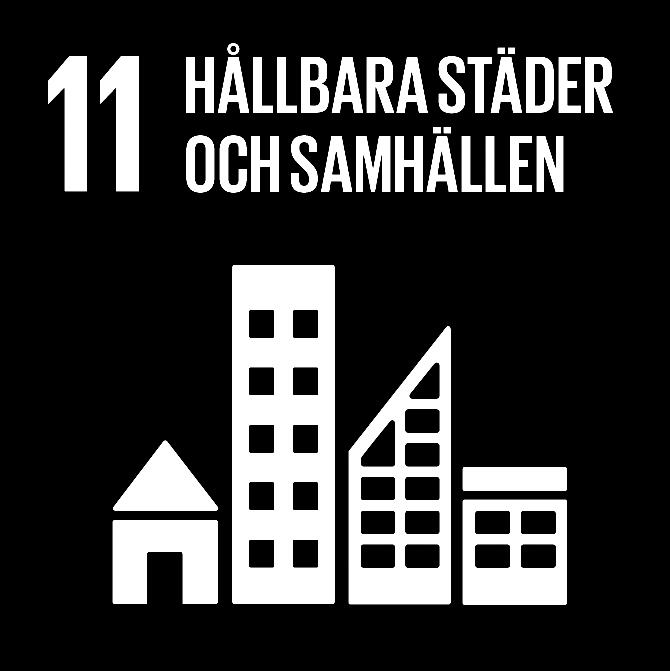 FN:s 17 globala hållbarhetsmål: 11 Hållbara städer och samhällen