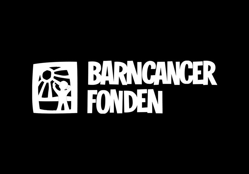 Barncancer fonden logga. Klicka här för att gå till deras hemsida.